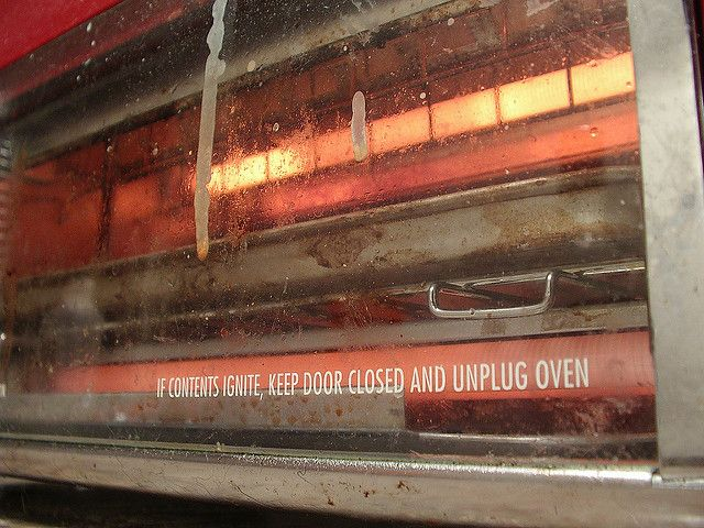 how to clean a toaster oven with baking soda Kitchen Appliance HQ dirty toaster oven