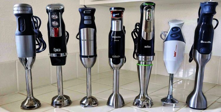how to use an immersion blender for soup Kitchen Appliance HQ Best immersion blenders in the corner of kitchen counter